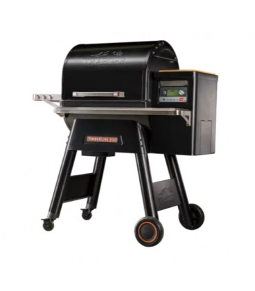 Traeger Barbecue a pellet Timberline 850 con griglie regolabili in acciaio inox per 18 coperti