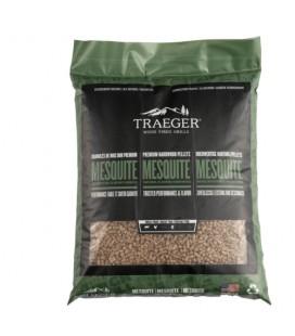 Traeger Pellets da legno Mesquite naturale al 100% per barbecue a pellet - 9 kg