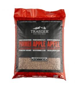 Traeger Pellets da legno di Melo naturale al 100% per barbecue a pellet - 9 kg