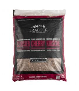 Traeger Pellets da legno Cherry naturale certificato FSC per barbecue a pellet - 9 kg