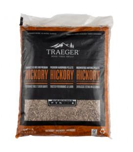 Traeger Pellets da legno Hickory naturale certificato FSC per barbecue a pellet - 9 kg