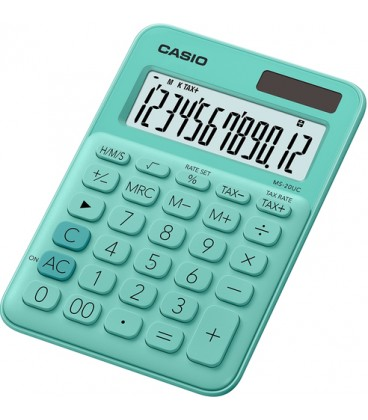Casio Calcolatrice MS-20UC Verde