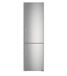 Liebherr CNef 4835 Comfort NoFrost frigorifero con congelatore Libera installazione 366 L D Argento