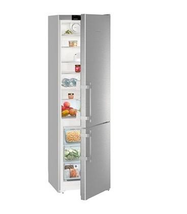 Liebherr CNEF4015 frigorifero con congelatore Libera installazione 356 L Argento