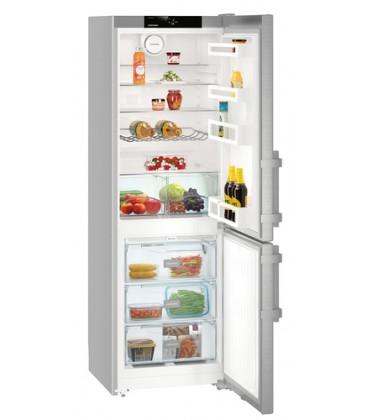 Liebherr CNef 3515 Comfort NoFrost frigorifero con congelatore Libera installazione 317 L E Argento