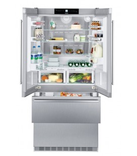 Liebherr CBNes 6256 frigorifero side-by-side Libera installazione 471 L Acciaio inossidabile