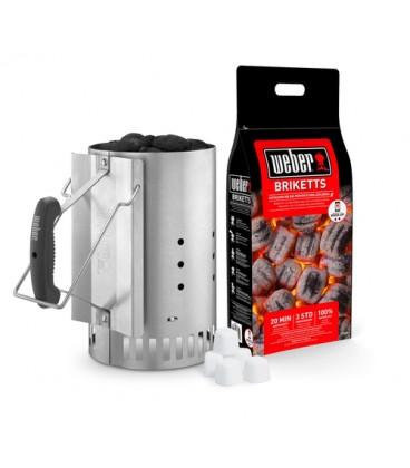 Weber Kit Ciminiera accessorio per barbecue