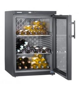 Liebherr WKb 1802-20 Cantinetta termoelettrica Libera installazione Acciaio inossidabile 66 bottiglia/bottiglie