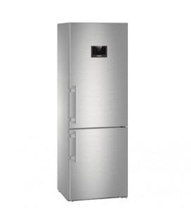 Liebherr CBNes 5778-20 frigorifero con congelatore Libera installazione 381 L Acciaio inossidabile