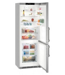 Liebherr CBNef 5715 frigorifero con congelatore Libera installazione 381 L Argento