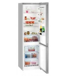 Liebherr CNPef 4813 frigorifero con congelatore Libera installazione 344 L D Argento