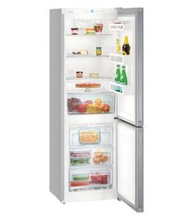 Liebherr CNPel 4313 frigorifero con congelatore Libera installazione 304 L Argento