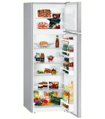 Liebherr CTel 2931 frigorifero con congelatore Libera installazione 271 L F Argento