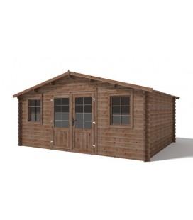 Esterni da Vivere AC/CASLINDA casetta da giardino Casetta in legno