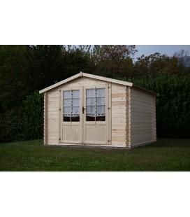 Esterni da Vivere Casetta di legno Kelly 593kg, 4.86 m2, 223cm, casetta da giardino