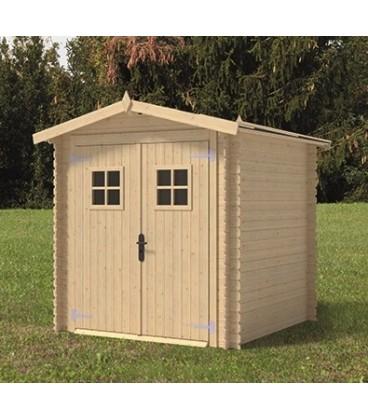 Esterni da Vivere Abete grezzo non trattato, 2.27m², 2x1.5m, casetta da giardino
