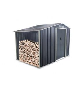 Esterni da Vivere Metallo, 58kg, 171x71x12cm, 3.14 m2, casetta da giardino