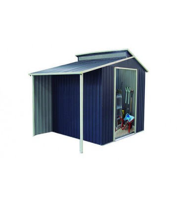 Esterni da Vivere Metallo, 185x71x12cm, 67kg, casetta da giardino