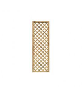 Esterni da Vivere Grigliati Premium, Pino, 60 x 180 cm, Recinzione da giardino