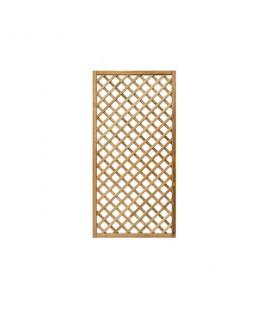 Esterni da Vivere Grigliati Premium, Pino, 90 x 180 cm, Recinzione da giardino