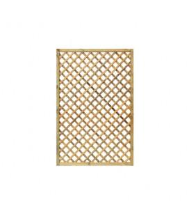 Esterni da Vivere Grigliati Premium, Pino, 120 x 180 cm, Recinzione da giardino