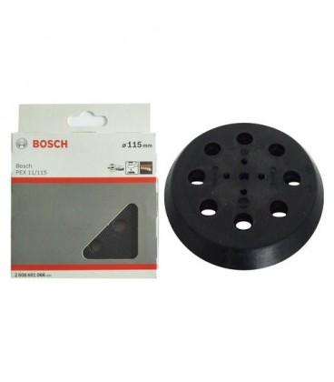 2608601066 Platorello morbido ricambio per levigatrici rotorbitali Bosch PEX 115