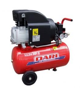 FINI Amico 25/200 Compressore coassiale lubrificato serbatoio 24 lt 1,5 kW 8 bar