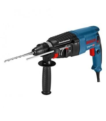 Bosch Professional GBH 2/26 D 06112A3000 Trapano martello tasselatore professionale 830W - 2,7J con attacco SDS-plus - valig...