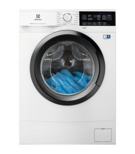 Electrolux EW6S370S lavatrice Libera installazione Caricamento frontale 7 kg 1000 Giri/min D Bianco