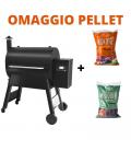 Traeger Barbecue a pellet Pro 780 con WiFi e sonda per carne per 14 coperti