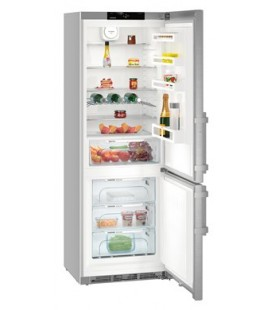 Liebherr CNef 5735 frigorifero con congelatore Libera installazione 402 L Argento