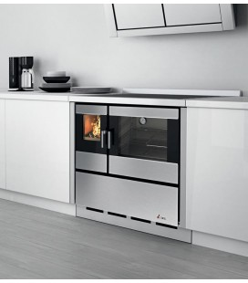 Cadel Kook 90 4.0 Cucina a legna 7,5 Kw ventilata con luce
