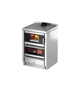 Cadel Cucina legna KOOK 60 4.0 ventilata con luce
