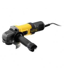 Stanley FMEG210QS Smerigliatrice professionale angolare 850W 115 mm con tecnologia No-Volt Release e Soft Start