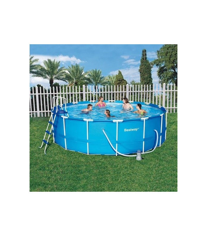 Piscine demontable 457 x 122 cm bestway 56100 piscina for Piscina 457 x 122