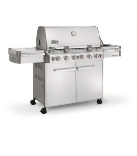 Weber Summit S-670 GBS Barbecue a Gas inox top di gamma modello 7370029