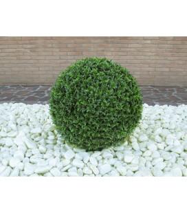 Pianta artificiale Palla di bosso 56 cm grande viridium