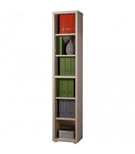 Composad Libreria stretta componibile sei vani colore frassino
