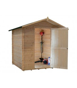 Casetta-Capanno da giardino in legno Pistacchio Il Ceppo