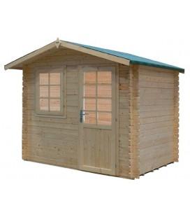 Casetta-Capanno da giardino in legno Saturno Il Ceppo