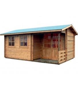 Casetta-Capanno da giardino in legno Aria Il Ceppo