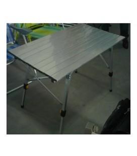 Amicasa Tavolo Pic Nic Alluminio 120x70 cm Regolabile Tavolo Pic Nic Alluminio 120x70 cm Regolabile