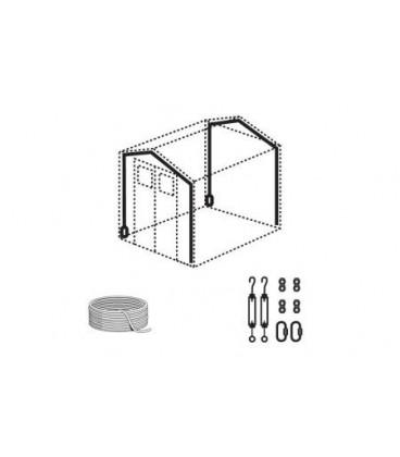 Kit ancoraggio per casetta PVC Grossfillex