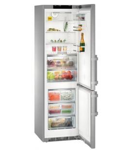 Liebherr CBNPES 4858 frigorifero con congelatore Libera installazione 344 L Acciaio inossidabile