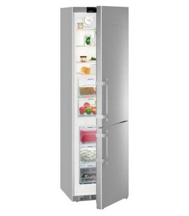 Liebherr CBNef 4815 frigorifero con congelatore Libera installazione 343 L Argento