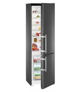 Liebherr CNBS 4015 frigorifero con congelatore Libera installazione 366 L E Nero