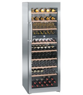 Liebherr WTes 5972 Vinidor Cantinetta termoelettrica Libera installazione Acciaio inossidabile 211 bottiglia/bottiglie