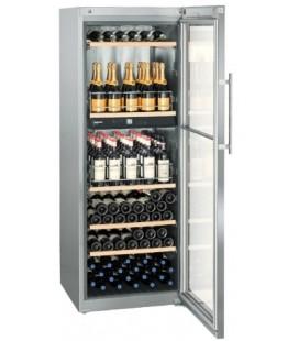 Liebherr WTpes 5972 Vinidor Cantinetta vino con compressore Libera installazione Acciaio inossidabile 155 bottiglia/bottiglie