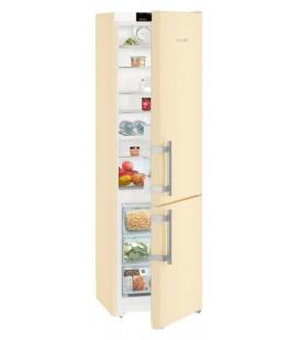 Liebherr CNbe 4015 Comfort NoFrost frigorifero con congelatore Libera installazione 356 L Beige