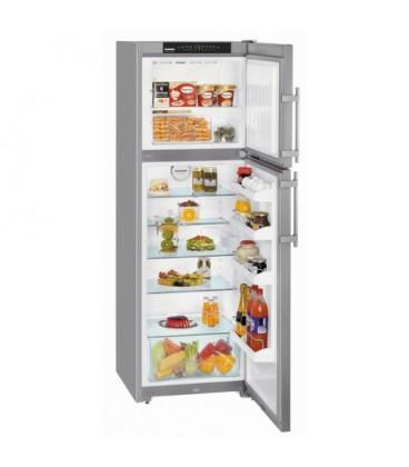 Liebherr CTNesf 3223-21 frigorifero con congelatore Libera installazione 273 L Argento